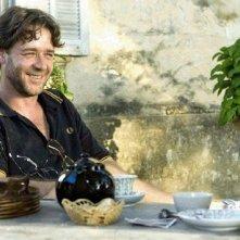 Russell Crowe in una scena del film Un'ottima annata - A Good Year