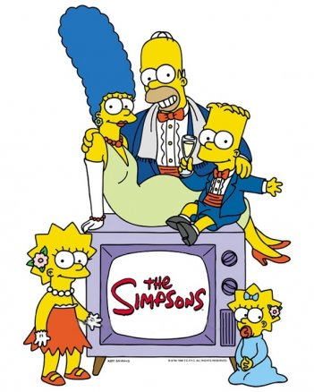 La locandina di I Simpsons
