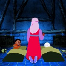 scena di Azur e Asmar