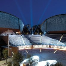 Un'immagine dell'Auditorium, scenario della Festa di Roma