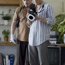 David Zayas con Michael C. Hall in una scena di Dexter