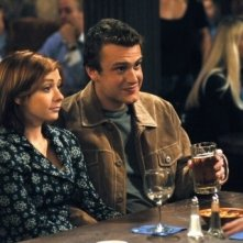 Jason Segel ed Alyson Hannigan in 'How I Met Your Mother'