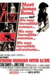 La locandina di Agente 007, dalla Russia con amore