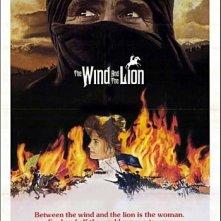 La locandina di Il vento e il leone