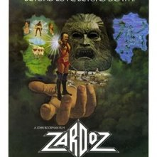 La locandina di Zardoz