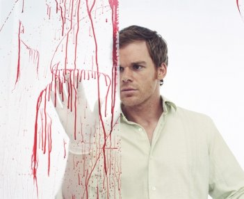 Michael C. Hall in una immagine promo di Dexter