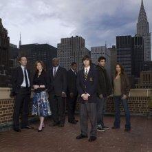 Una foto promozionale del cast di 'Kidnapped'