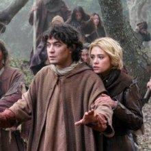 Riccardo Scamarcio e Martina Stella in 'La freccia nera'