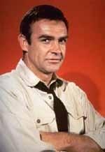 L'attore scozzese Sean Connery