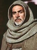 Sean Connery in una scena de Il nome della rosa tratto dal bestseller di Umberto Eco