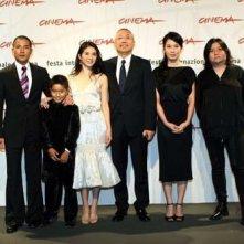 Il cast di 'Fu Zi' a Roma