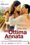 La locandina italiana di Un'ottima annata - A Good Year