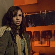 Amber Tamblyn in una scena del film The Grudge 2