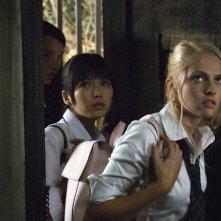 Arielle Kebbel, Misako Uno e Teresa Palmer  in una scena del film The Grudge 2