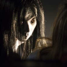Takako Fuji in una scena del film The Grudge 2