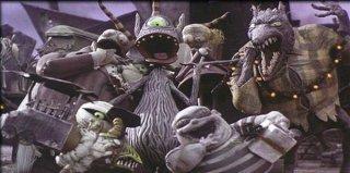 Alcuni degli strampalati e irresistibili protagonisti del film Nightmare Before Christmas
