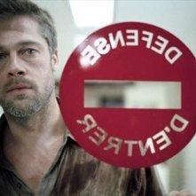 Brad Pitt in una scena del dramma Babel
