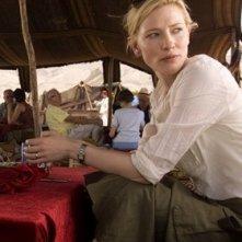 la bella Cate Blanchett in una scena di Babel