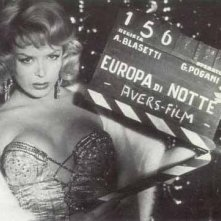 Coccinelle sul set di Europa di notte