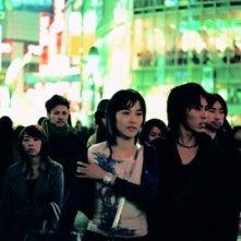 Rinko Kikuchi in una scena di Babel