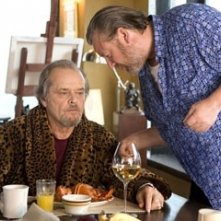 Jack Nicholson e Ray Winstone in The Departed