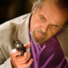 Jack Nicholson in una scena di The Departed