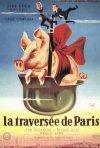 La locandina di La traversata di Parigi