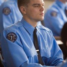 Leonardo DiCaprio in una scena di the Departed