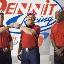 Will Ferrell, Michael Clarke Duncan e John C. Reilly in Ricky Bobby - la storia di un uomo che sapeva contare fino a uno