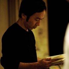 Shinya Tsukamoto sul set del film Vital
