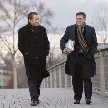 Dany Boon e Daniel Auteuil in una scena del film Il mio migliore amico