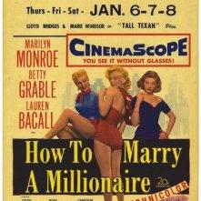 La locandina di Come sposare un milionario
