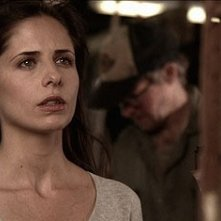 Sarah Michelle Gellar in una scena del film The Return (2006)