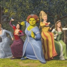 Un'immagine promo per Shrek the Third