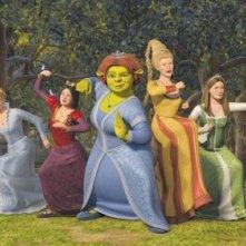 Un'immagine promo per Shrek the Third