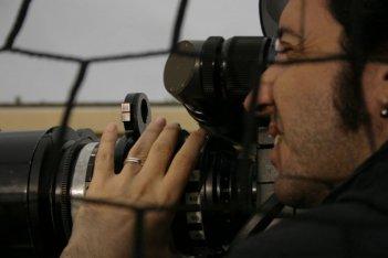 Paolo Sorrentino sul set di L'amico di famiglia