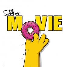 La locandina di The Simpsons Movie