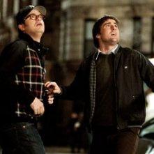 Rainn e Luke Wilson in una scena de La mia Super Ex-Ragazza