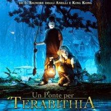 La locandina italiana di Un ponter per Terabithia