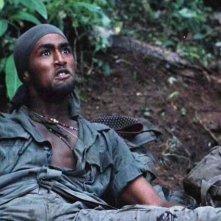 Reggie Johnson in una scena di Platoon
