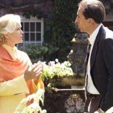 Nicolas Cage ed Ellen Burstyn in una scena del film The Wicker Man
