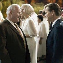 Anthony Hopkins e William H. Macy in una scena di Bobby
