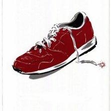 La locandina di L'uomo con la scarpa rossa