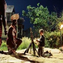 Una scena del film Arthur e il popolo dei Minimei
