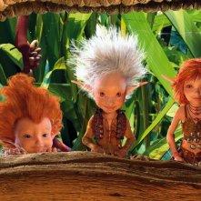 Una scena del film fantasy Arthur e il popolo dei Minimei