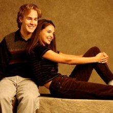 Katie Holmes e James Van Der Beek nella serie Dawson's Creek