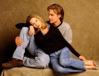 Michelle Williams e James Van Der Beek  in Dawson's Creek