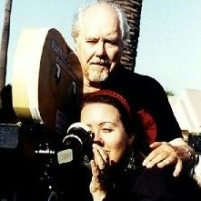 Robert Altman sul set del film America Oggi