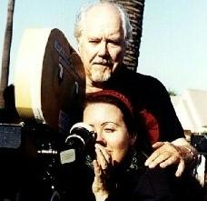 Robert Altman sul set del film America Oggi