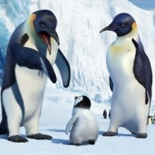 Una sequenza del film Happy Feet